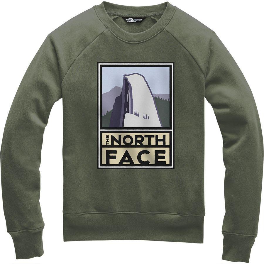 【クーポンで最大2000円OFF】(取寄)ノースフェイス レディース ボトル ソース クルー トレーナー The North Face Women Bottle Source Crew Sweatshirt New Taupe Green