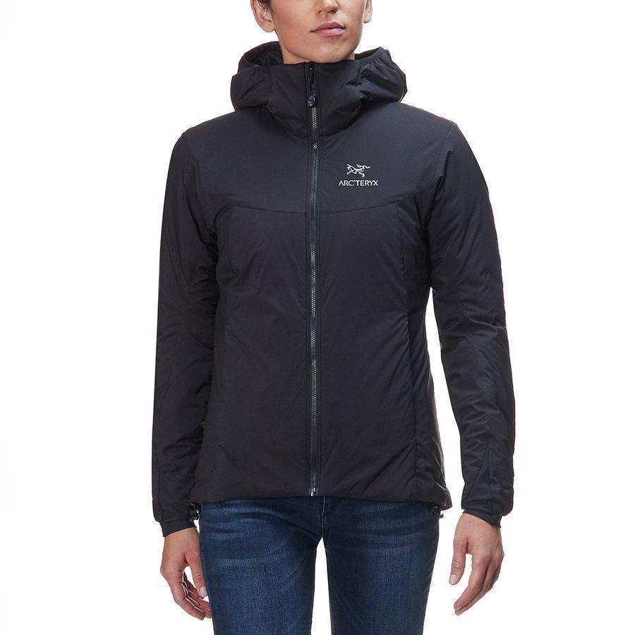 (取寄)アークテリクス レディース アトム AR フーデッド インサレーテッド ジャケット Arc'teryx Women Atom AR Hooded Insulated Jacket Black