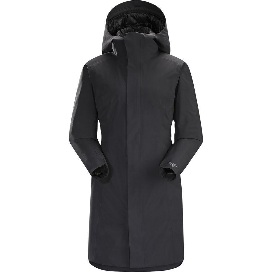 【ハイキング 登山 マウンテン アウトドア】【ウェア アウター】【山ガール ファッション ブランド】【大きいサイズ ビッグサイズ】 (取寄)アークテリクス レディース デュラント インサレーテッド コート Arc'teryx Women Durant Insulated Coat Black