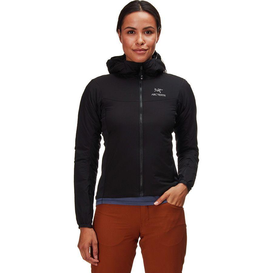 (取寄)アークテリクス レディース アトム LT フーデッド インサレーテッド ジャケット Arc'teryx Women Atom LT Hooded Insulated Jacket Black
