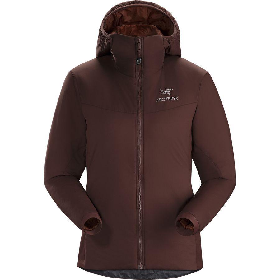 【ハイキング 登山 マウンテン アウトドア】【ウェア アウター】【山ガール ファッション ブランド】 (取寄)アークテリクス レディース アトム LT フーデッド インサレーテッド ジャケット Arc'teryx Women Atom LT Hooded Insulated Jacket Flux