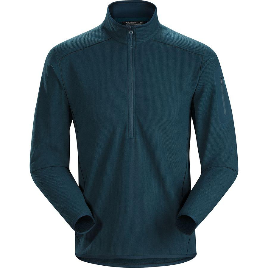 (取寄)アークテリクス メンズ デルタ LT Zip-Neck フリース プルオーバー Arc'teryx Men's Delta LT Zip-Neck Fleece Pullover Labyrinth
