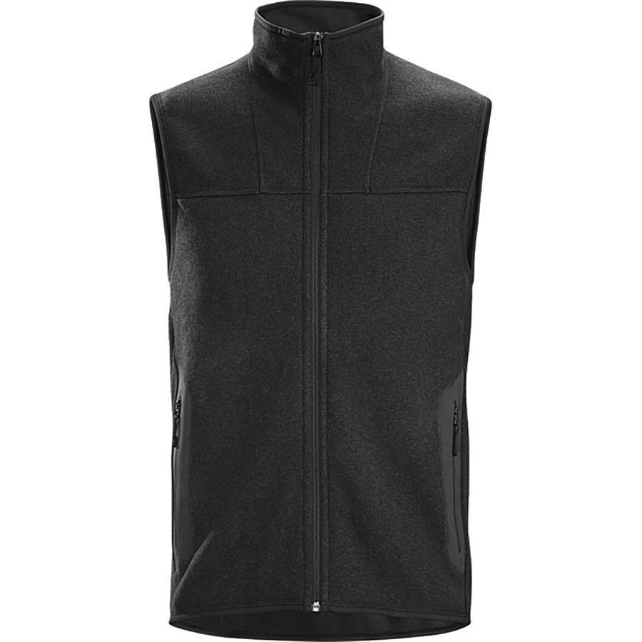 (取寄)アークテリクス メンズ コバート ベスト Arc'teryx Men's Covert Vest Black Heather