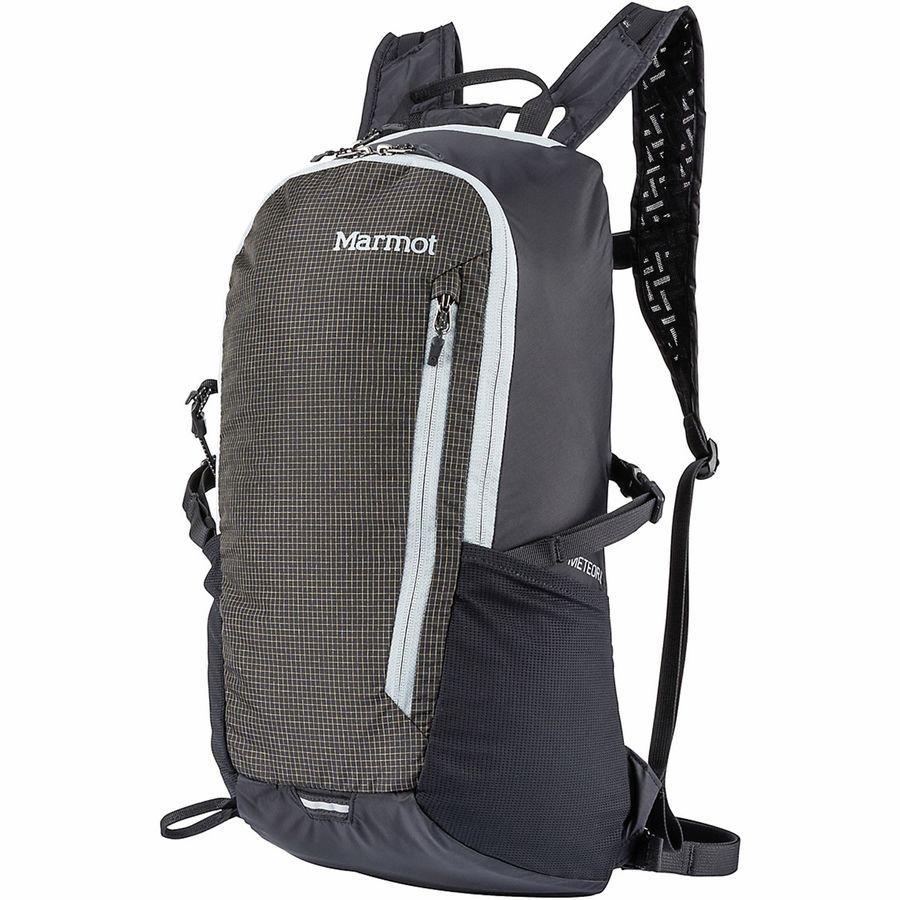 【クーポンで最大2000円OFF】(取寄)マーモット ユニセックス コンプレッサー ミーティア 16L バックパック Marmot Men's Kompressor Meteor 16L Backpack Black/Slate Grey