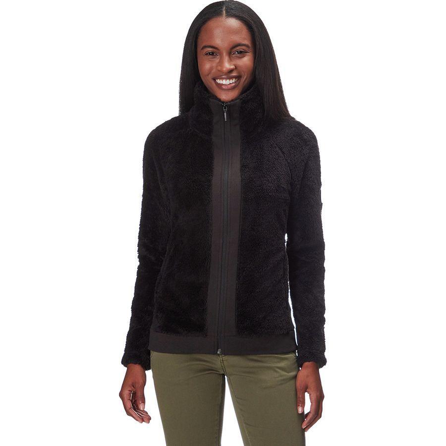 (取寄)ノースフェイス レディース ファーリー フリース ジャケット The North Face Women Furry Fleece Jacket Tnf Black