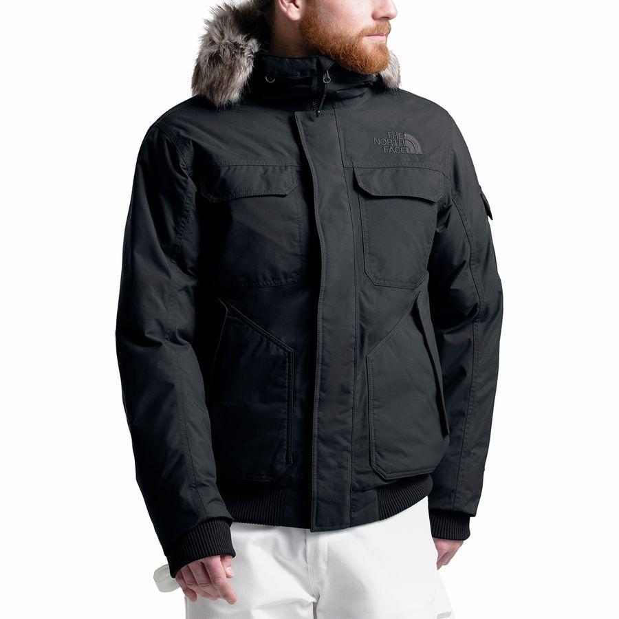 (取寄)ノースフェイス メンズ ゴッサムジャケット フーデッド 3 ダウンジャケット ブラック The North Face Men's Gotham Hooded III Down Jacket Tnf Black/Tnf Black