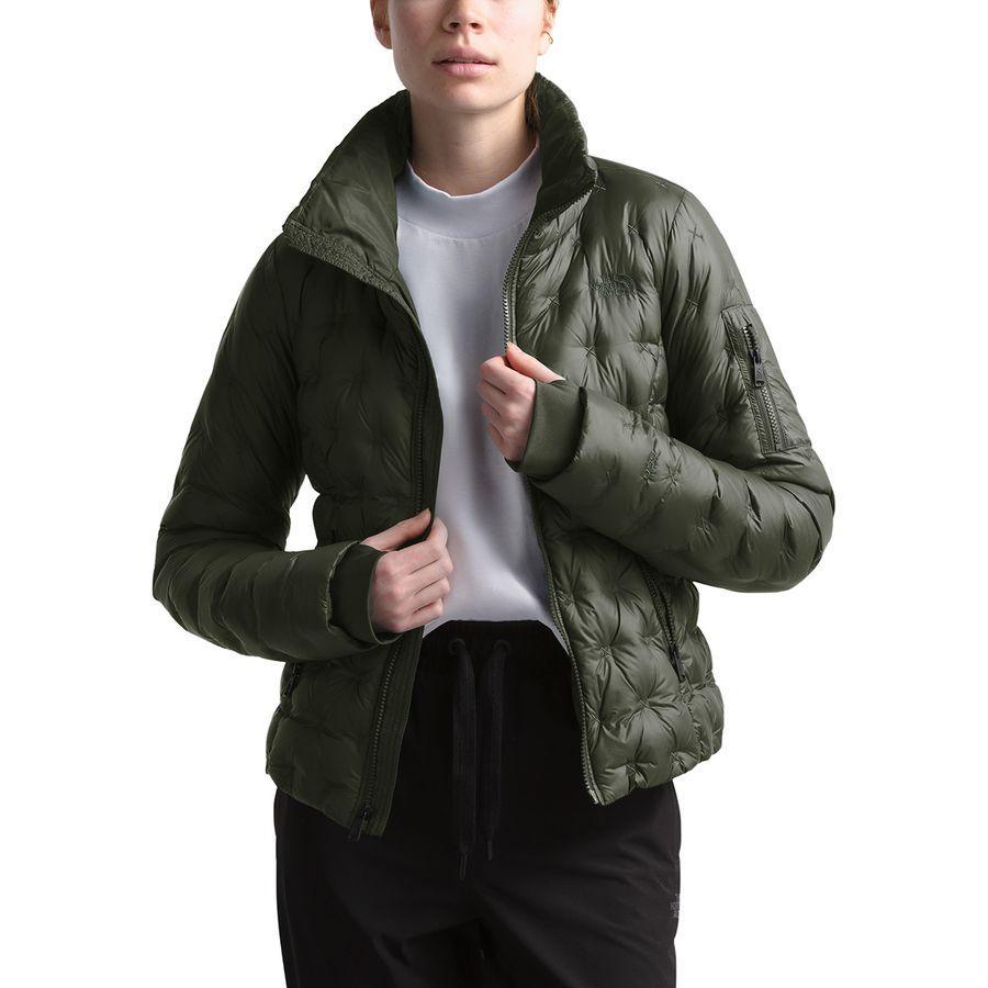 (取寄)ノースフェイス レディース ホラダウン クロップ ダウン ジャケット The North Face Women Holladown Crop Down Jacket New Taupe Green