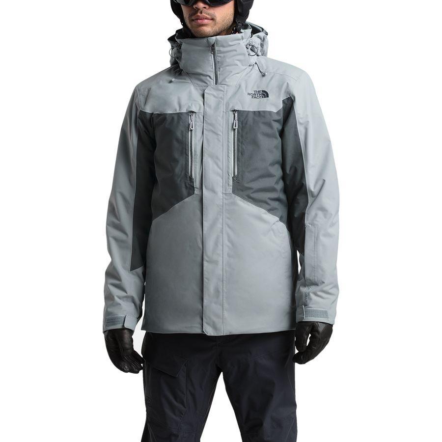 【クーポンで最大2000円OFF】(取寄)ノースフェイス メンズ クレメント トリクラメイト ジャケット The North Face Men's Clement Triclimate Jacket Mid Grey/Asphalt Grey
