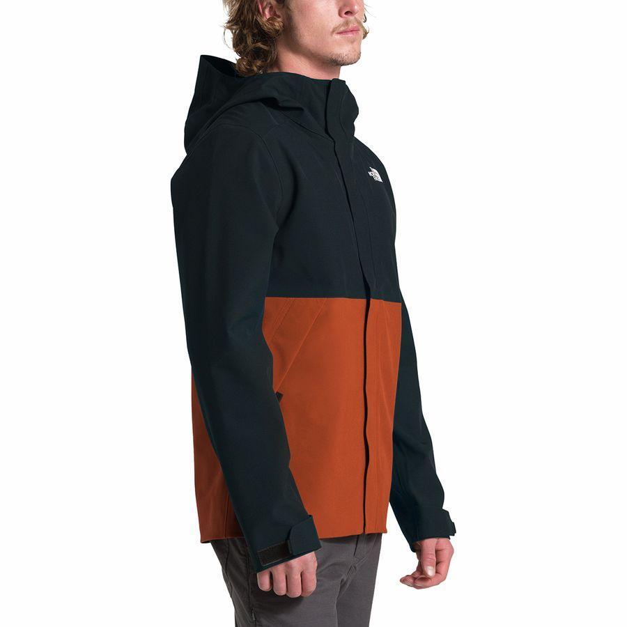 (取寄)ノースフェイス メンズ アペックス フレックス ドライベント ジャケット The North Face Men's Apex Flex DryVent Jacket Tnf Black/Picante Red