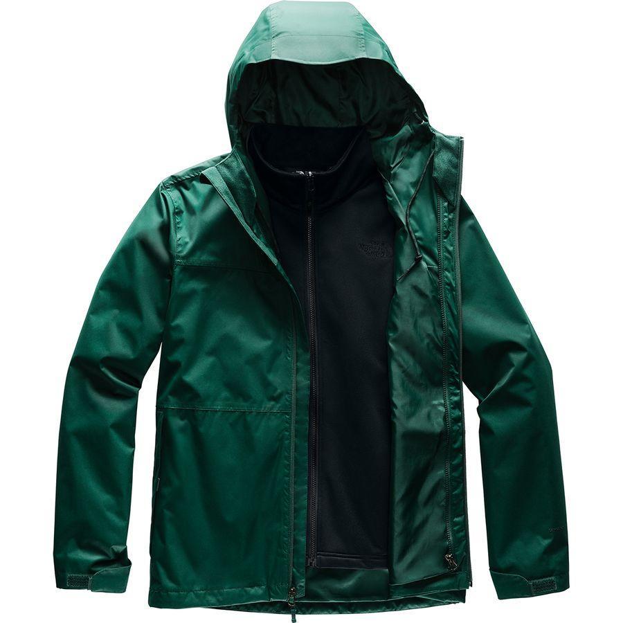 【クーポンで最大2000円OFF】(取寄)ノースフェイス メンズ アロウッド トリクラメイト スリーインワン ジャケット The North Face Men's Arrowood Triclimate 3-in-1 Jacket Night Green