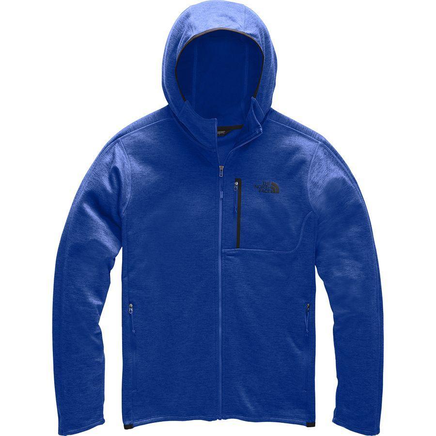 【クーポンで最大2000円OFF】(取寄)ノースフェイス メンズ キャニオンランズ フーデッド フリース ジャケット The North Face Men's Canyonlands Hooded Fleece Jacket Tnf Blue Heather