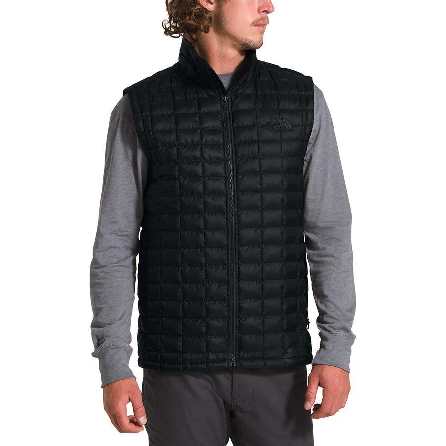 【クーポンで最大2000円OFF】(取寄)ノースフェイス メンズ サーモボール エコ ベスト The North Face Men's Thermoball Eco Vest Tnf Black Matte