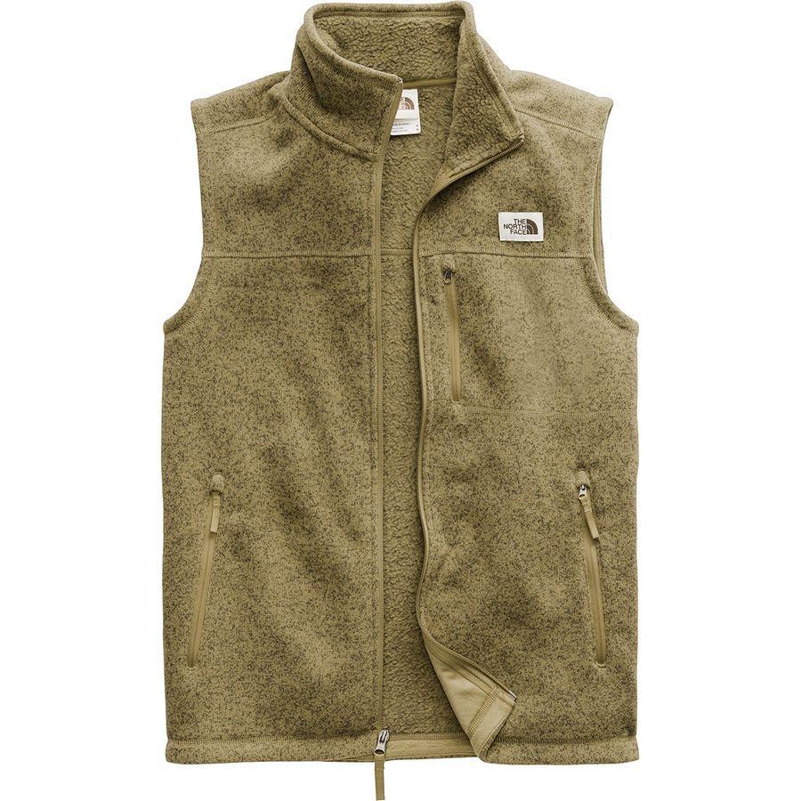 (取寄)ノースフェイス メンズ ゴードン リヨン フリース ベスト The North Face Men's Gordon Lyons Fleece Vest British Khaki Heather