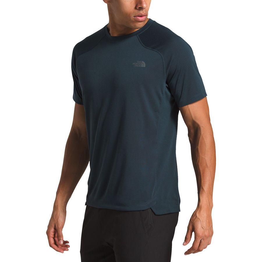 (取寄)ノースフェイス メンズ エッセンシャル ショートスリーブ シャツ The North Face Men's Essential Short-Sleeve Shirt Urban Navy