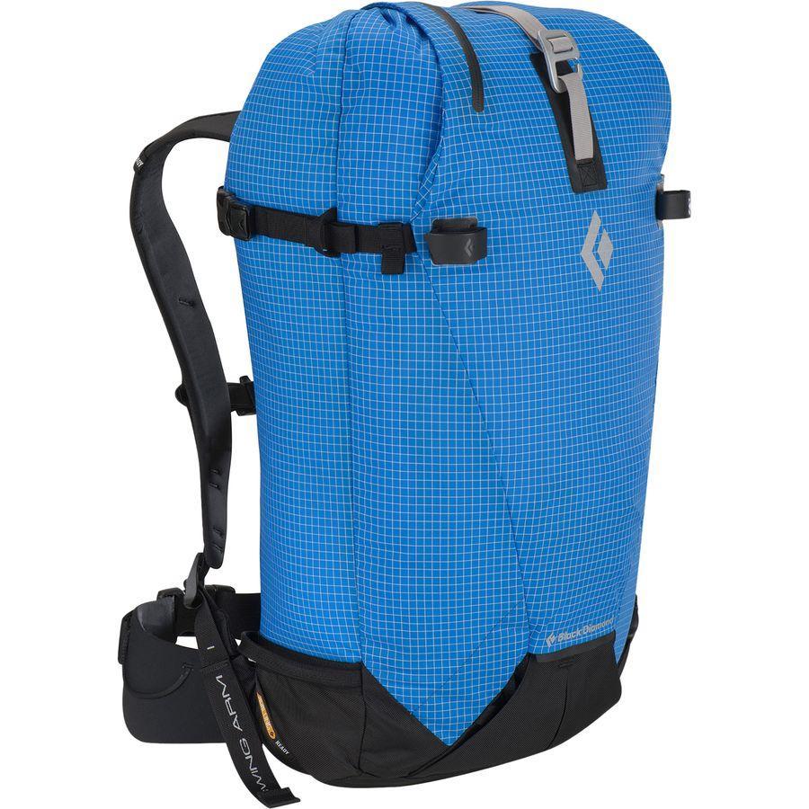 (取寄)ブラックダイヤモンド ユニセックス シルク 35L バックパック Black Diamond Men's Cirque 35L Backpack Ultra Blue