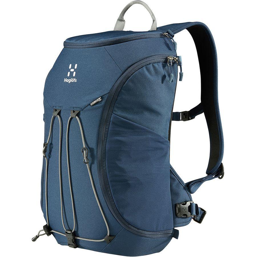 (取寄)ホグロフス ユニセックス コーカー ラージ 20L バックパック Haglofs Men's Corker Large 20L Backpack Tarn Blue/Rock