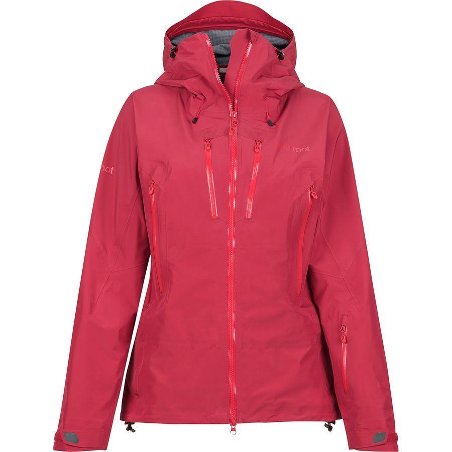 【クーポンで最大2000円OFF】(取寄)マーモット レディース アルピニスト ジャケット Marmot Women Alpinist Jacket Sienna Red