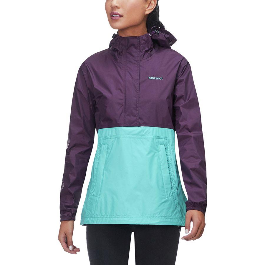 (取寄)マーモット レディース PreCip アノラック Marmot Women PreCip Anorak Dark Purple/Meadowbrook