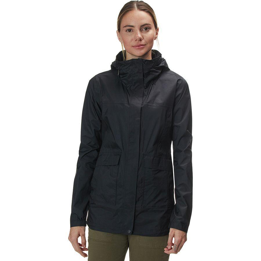 (取寄)マーモット レディース アシュベリー PreCip エコ ジャケット Marmot Women Ashbury PreCip Eco Jacket Black