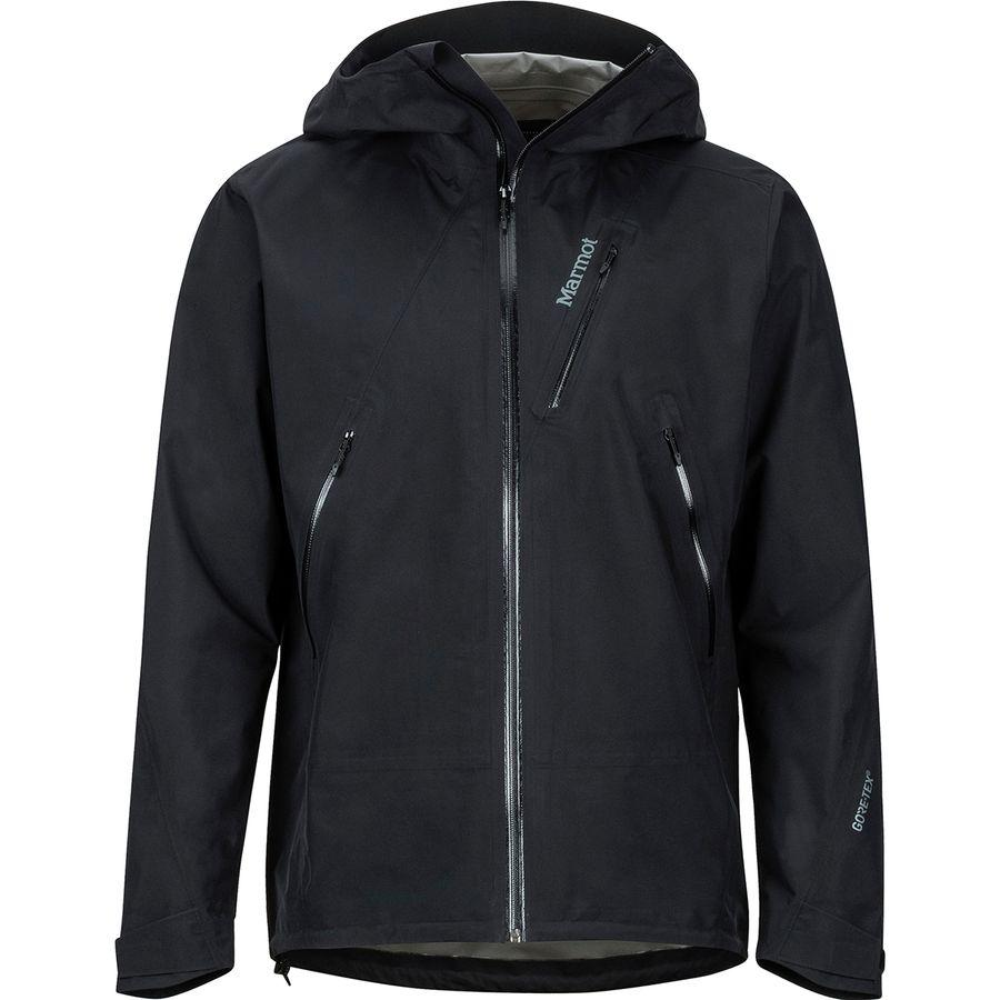 【クーポンで最大2000円OFF】(取寄)マーモット メンズ ナイフ エッジ ジャケット Marmot Men's Knife Edge Jacket Black