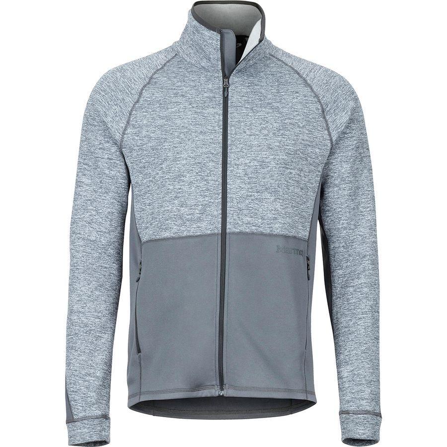 (取寄)マーモット メンズ メスカリート フリース ジャケット Marmot Men's Mescalito Fleece Jacket Steel Onyx