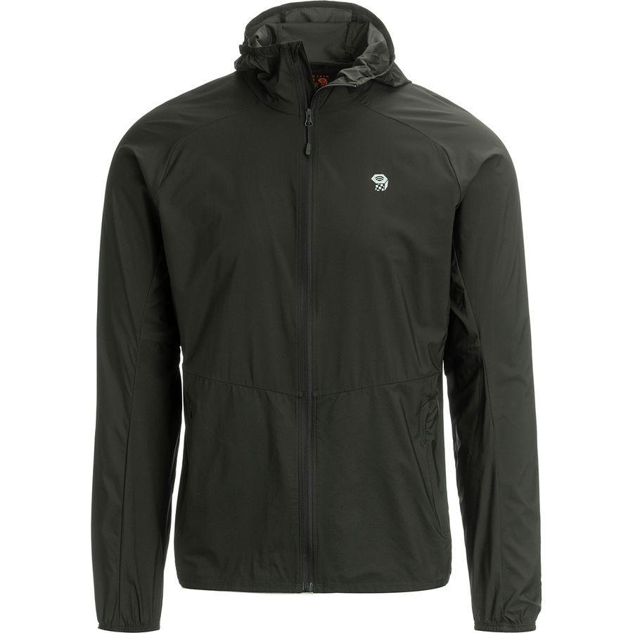 (取寄)マウンテンハードウェア メンズ コア プレシェル フーデッド ジャケット Mountain Hardwear Men's Kor Preshell Hooded Jacket Void
