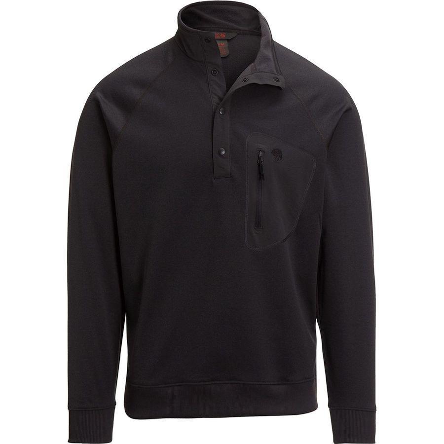 【ハイキング 登山 トレッキング 山登り アウトドア カジュアル】【トップス ウェア フリース】【メンズ 男性用】 (取寄)マウンテンハードウェア メンズ ノース ピーク 1/2-Zip フリース プルオーバー Mountain Hardwear Men's Norse Peak 1/2-Zip Fleece Pullover Void