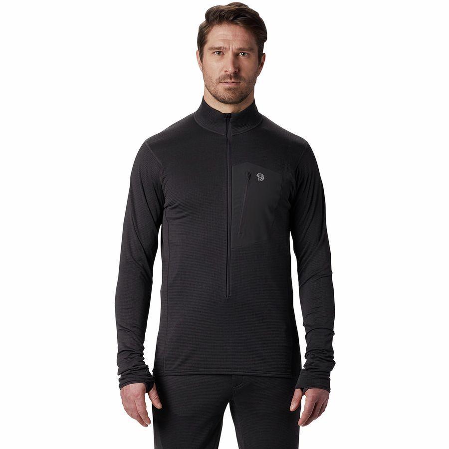 (取寄)マウンテンハードウェア メンズ タイプ 2 ファン 3/4-Zipプルオーバー フリース ジャケット Mountain Hardwear Men's Type 2 Fun 3/4-Zip Pullover Fleece Jacket Void