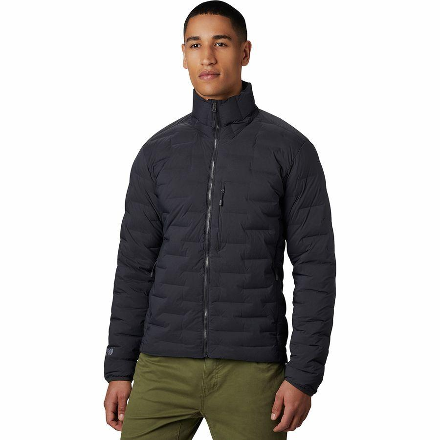 (取寄)マウンテンハードウェア メンズ スーパー DS ストレッチダウン ジャケット Mountain Hardwear Men's Super DS Stretchdown Jacket Void