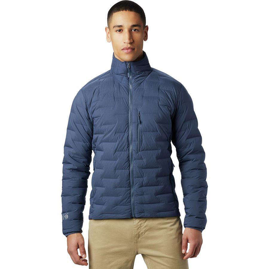 (取寄)マウンテンハードウェア メンズ スーパー DS ストレッチダウン ジャケット Mountain Hardwear Men's Super DS Stretchdown Jacket Zinc