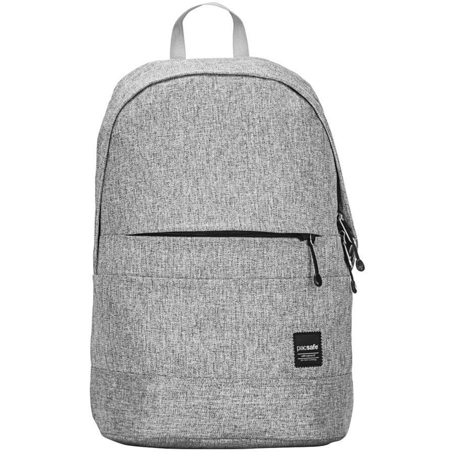 【エントリーでポイント5倍】(取寄)パックセーフ ユニセックス スリングセーフ LX300 20L バックパック Pacsafe Men's Slingsafe LX300 20L Backpack Tweed Grey