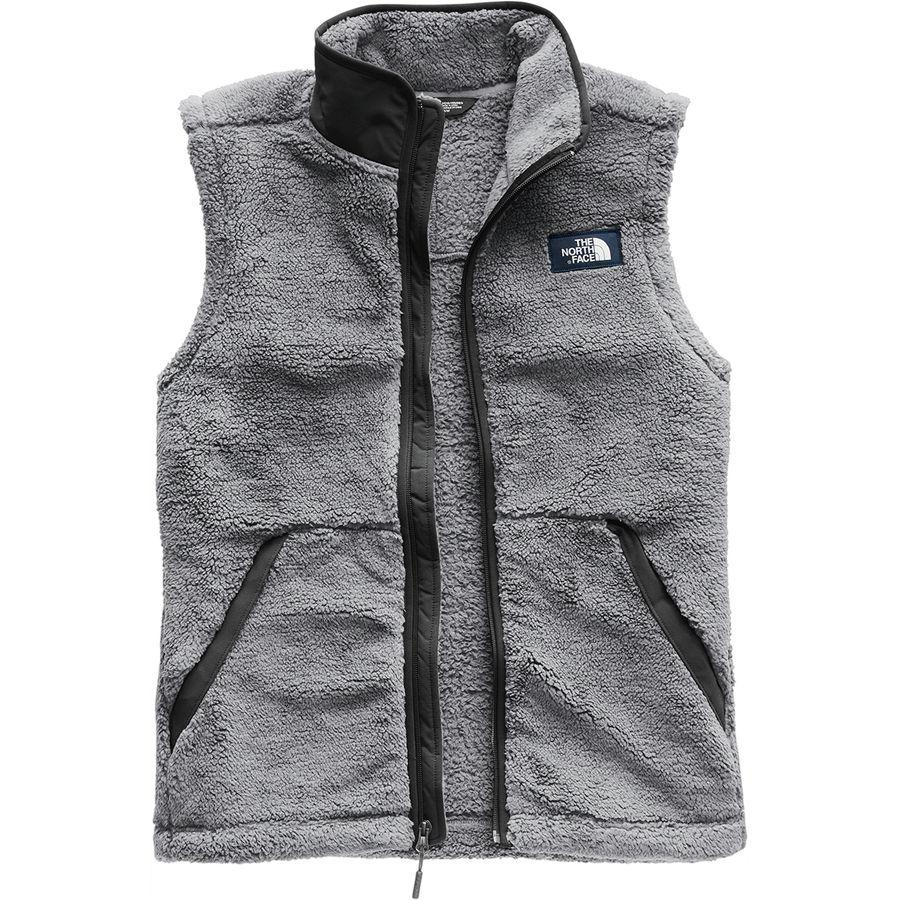 (取寄)ノースフェイス メンズ Campshire フリース ベスト The North Face Men's Campshire Fleece Vest Mid Grey/Asphalt Grey