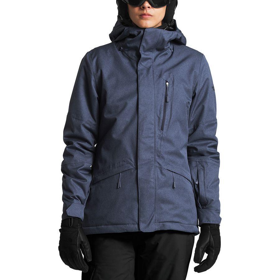 【クーポンで最大2000円OFF】(取寄)ノースフェイス レディース ThermoBall スノー トリクラメイト フーデッド 3-In-1 ジャケット The North Face Women ThermoBall Snow Triclimate Hooded 3-In-1 Jacket Grisaille Grey Heather