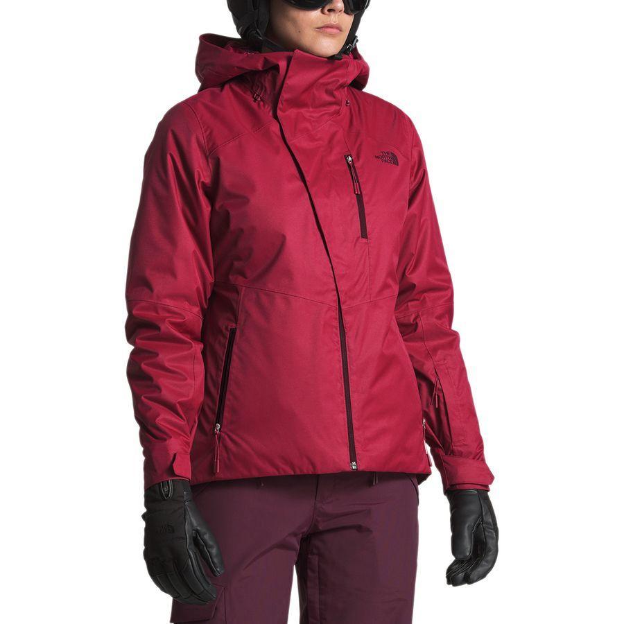 【クーポンで最大2000円OFF】(取寄)ノースフェイス レディース クレメンタイン トリクラメイト フーデッド 3-In-1 ジャケット The North Face Women Clementine Triclimate Hooded 3-In-1 Jacket Rumba Red