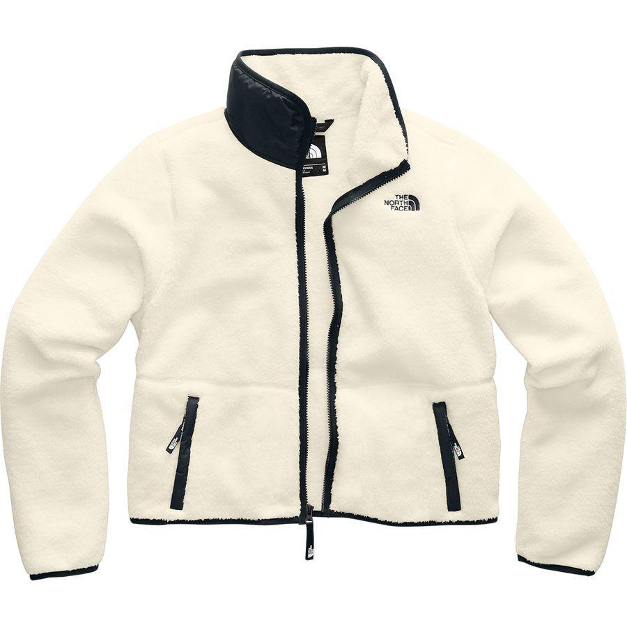 (取寄)ノースフェイス レディース ダンレイヴン シェルパ クロップ ジャケット The North Face Women Dunraven Sherpa Crop Jacket Vintage White