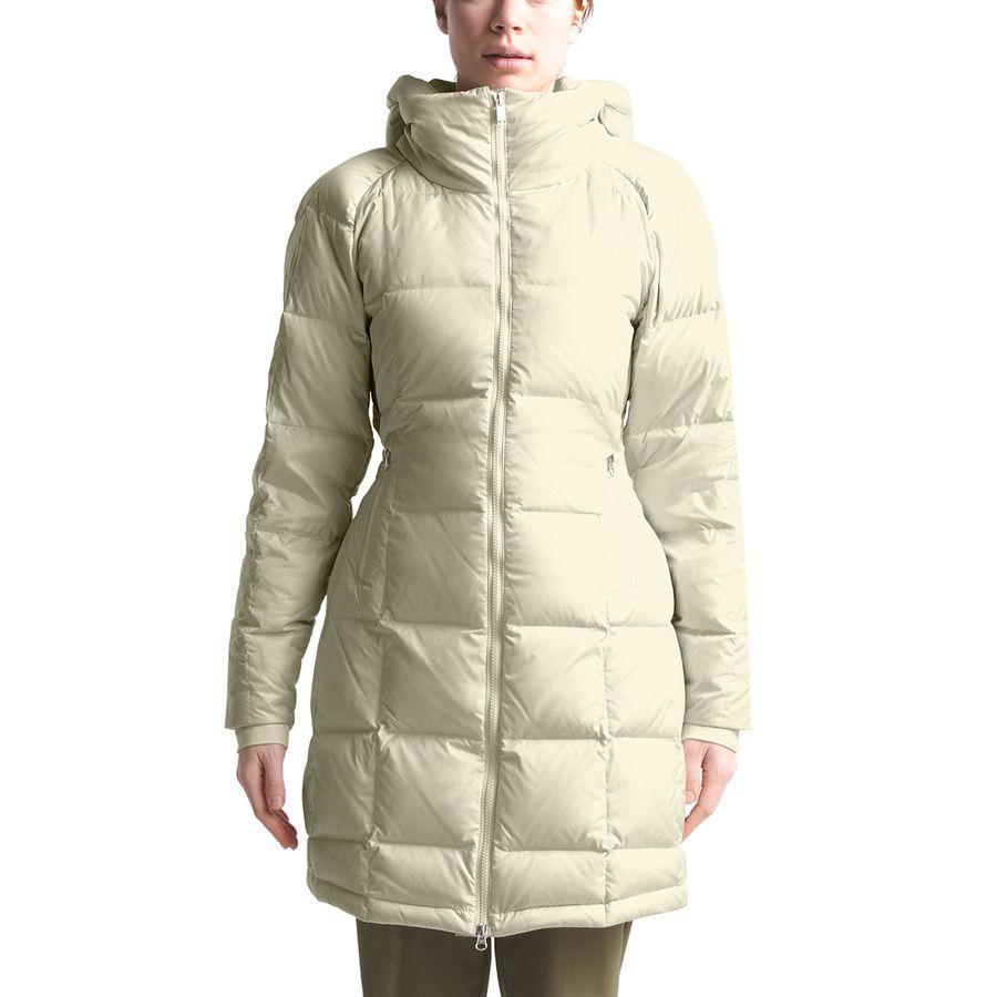 【エントリーでポイント5倍】(取寄)ノースフェイス レディース アクロポリス ダウン パーカー The North Face Women Acropolis Down Parka Vintage White