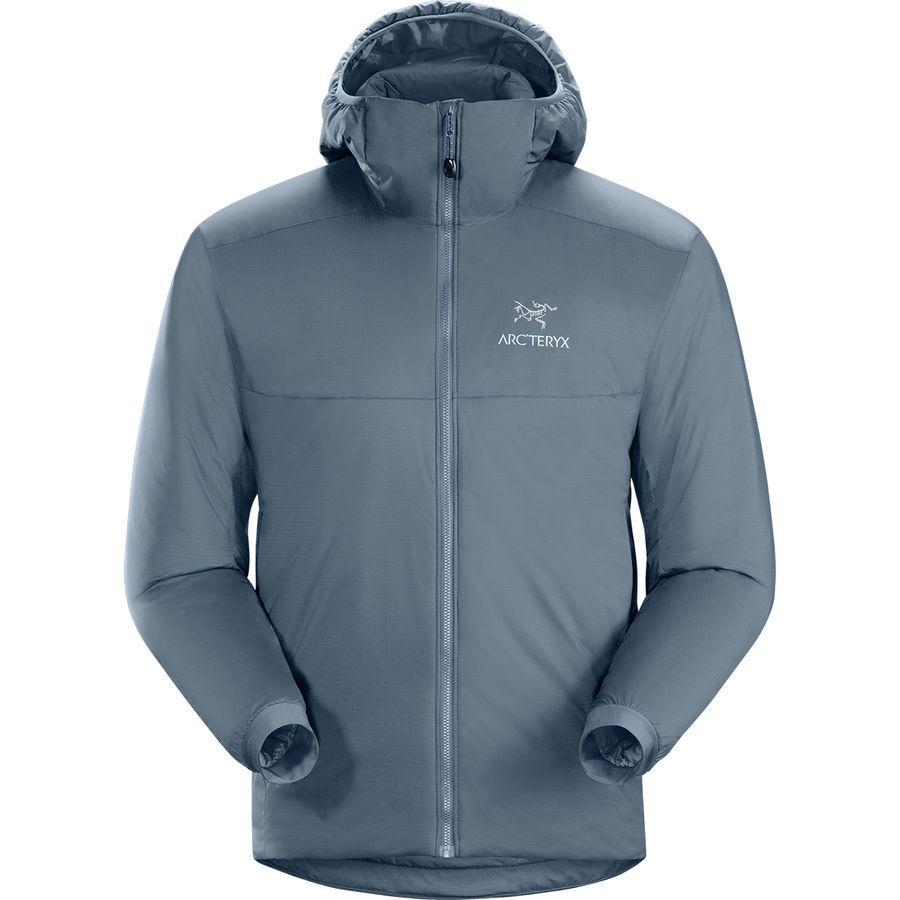 【ハイキング 登山 マウンテン アウトドア】【ウェア アウター】【大きいサイズ ビッグサイズ】 (取寄)アークテリクス メンズ アトム AR フーデッド インサレーテッド ジャケット Arc'teryx Men's Atom AR Hooded Insulated Jacket Neptune
