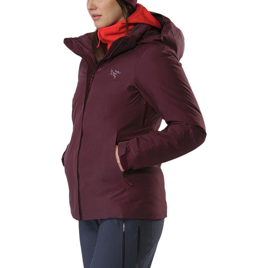 【クーポンで最大2000円OFF】(取寄)アークテリクス レディース Andessa インサレーテッド ジャケット Arc'teryx Women Andessa Insulated Jacket Crimson