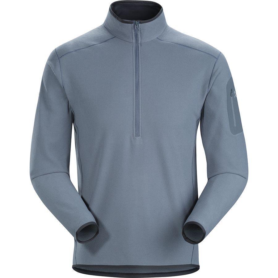 (取寄)アークテリクス メンズ デルタ LT Zip-Neck フリース プルオーバー Arc'teryx Men's Delta LT Zip-Neck Fleece Pullover Proteus