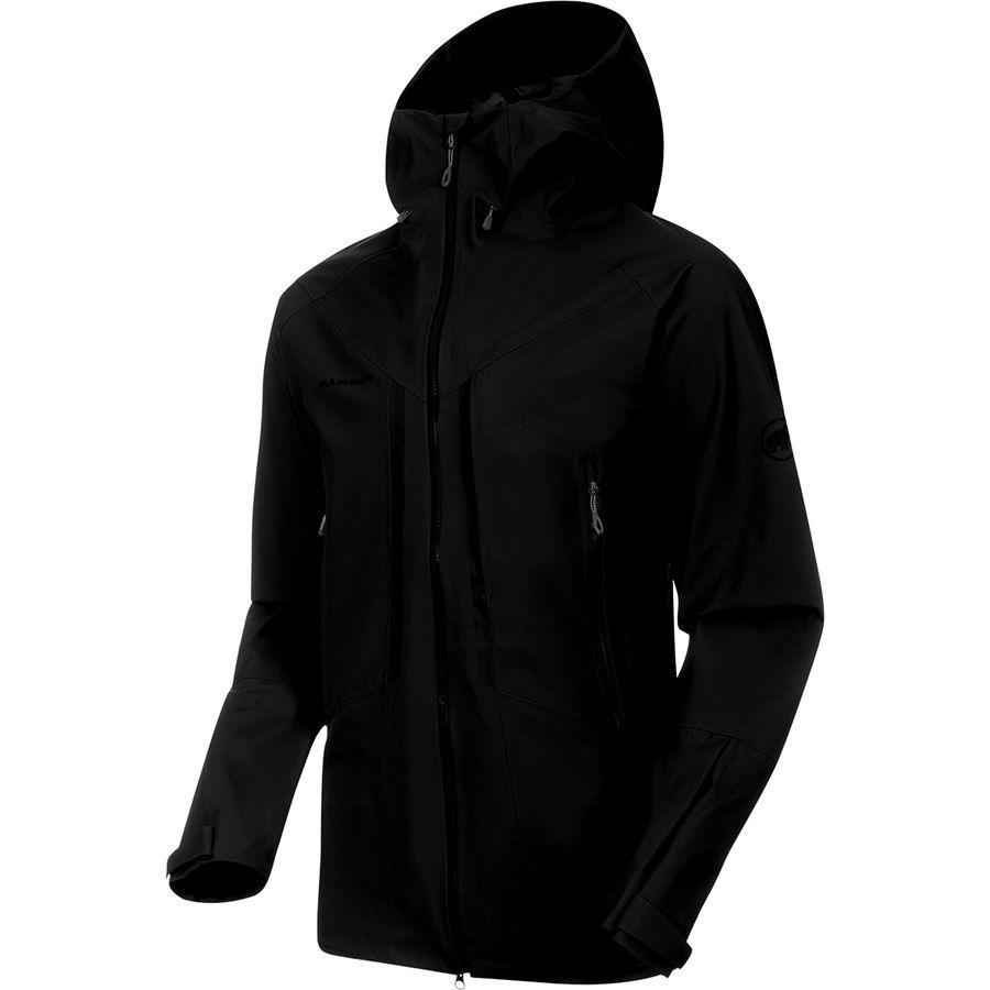 (取寄)マムート メンズ マサオ HS フーデッド ジャケット Mammut Men's Masao HS Hooded Jacket Black