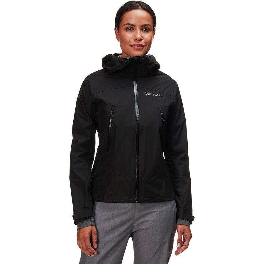 【ハイキング 登山 トレッキング 山登り アウトドア カジュアル】【ジャケット アウター ウェア】【レディース 女性用】 (取寄)マーモット レディース イクリプス ジャケット Marmot Women Eclipse Jacket Black