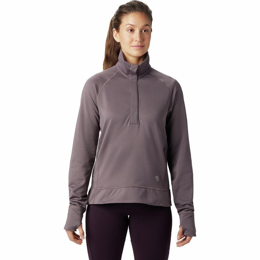 (取寄)マウンテンハードウェア レディース ノース ピーク フリース プルオーバー Mountain Hardwear Women Norse Peak Fleece Pullover Purple Dusk