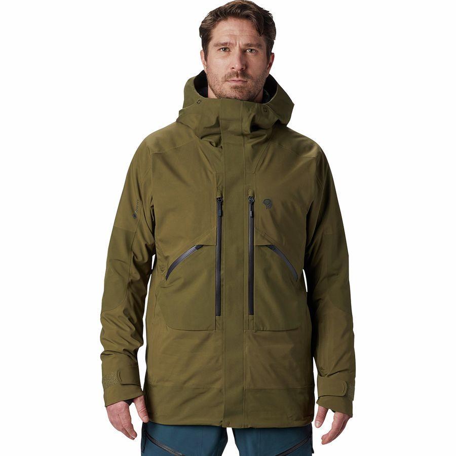 【クーポンで最大2000円OFF】(取寄)マウンテンハードウェア メンズ クラウド バンク Gtx インサレーテッド ジャケット Mountain Hardwear Men's Cloud Bank GTX Insulated Jacket Combat Green