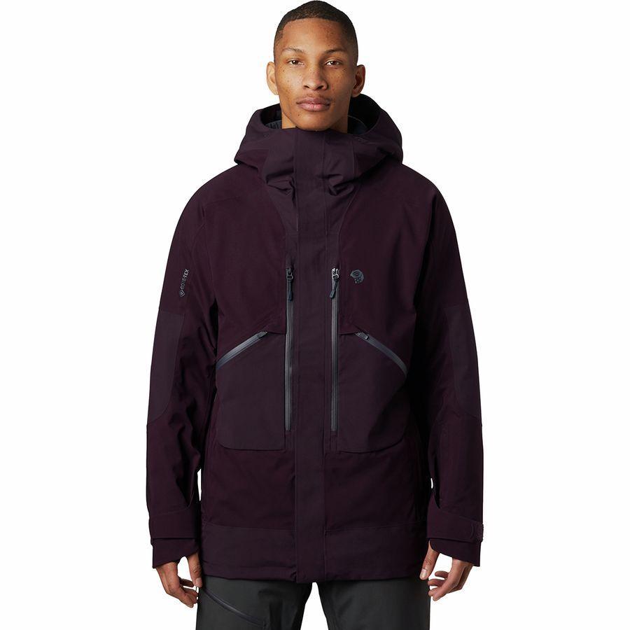 (取寄)マウンテンハードウェア メンズ クラウド バンク Gtx インサレーテッド ジャケット Mountain Hardwear Men's Cloud Bank GTX Insulated Jacket Darkest Dawn