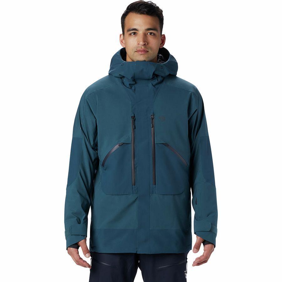 【クーポンで最大2000円OFF】(取寄)マウンテンハードウェア メンズ クラウド バンク Gtx インサレーテッド ジャケット Mountain Hardwear Men's Cloud Bank GTX Insulated Jacket Icelandic