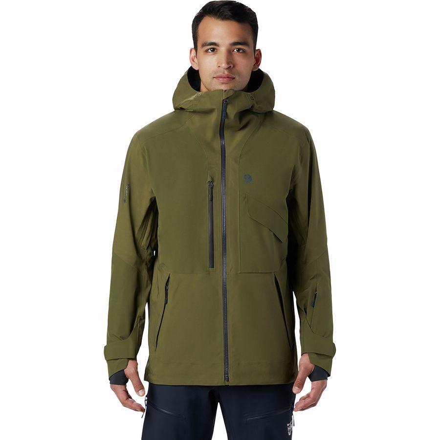 (取寄)マウンテンハードウェア メンズ クラウド バンク Gtx ジャケット Mountain Hardwear Men's Cloud Bank GTX Jacket Combat Green