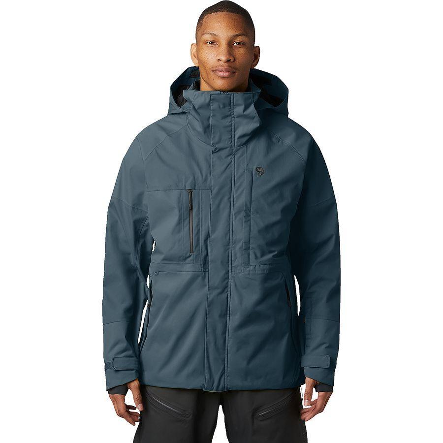 【クーポンで最大2000円OFF】(取寄)マウンテンハードウェア メンズ ファイアフォール 2 ジャケット Mountain Hardwear Men's Firefall 2 Jacket Icelandic