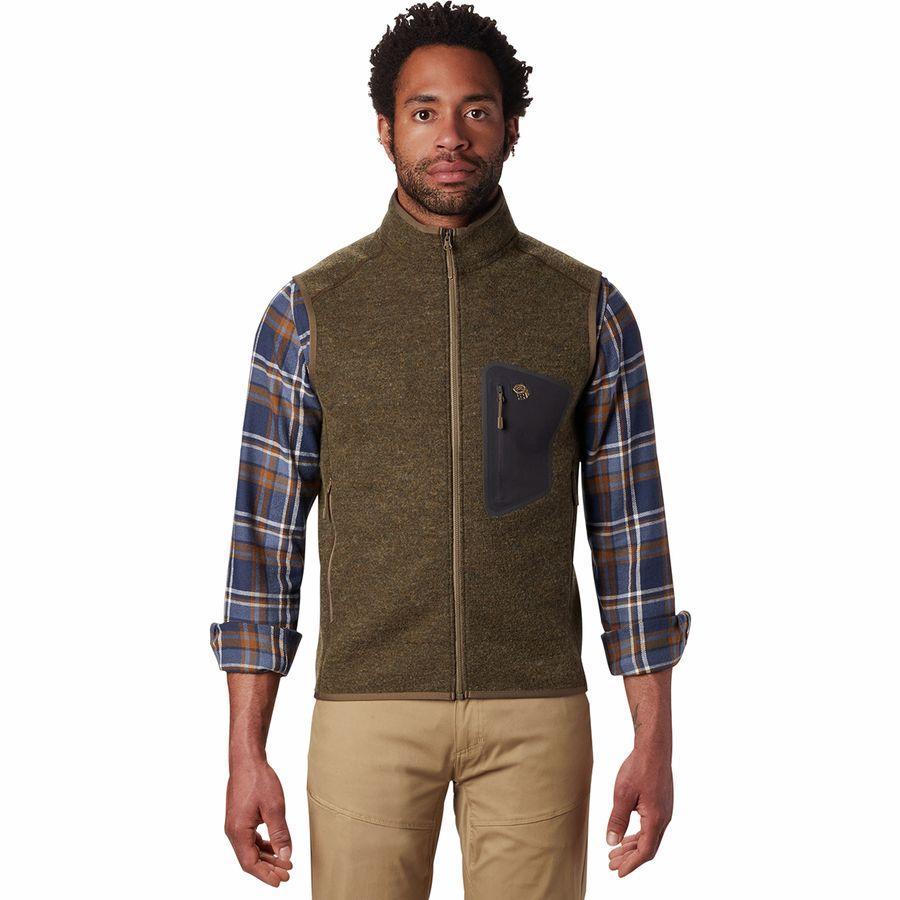 (取寄)マウンテンハードウェア メンズ ハッチャー ベスト Mountain Hardwear Men's Hatcher Vest Darklands