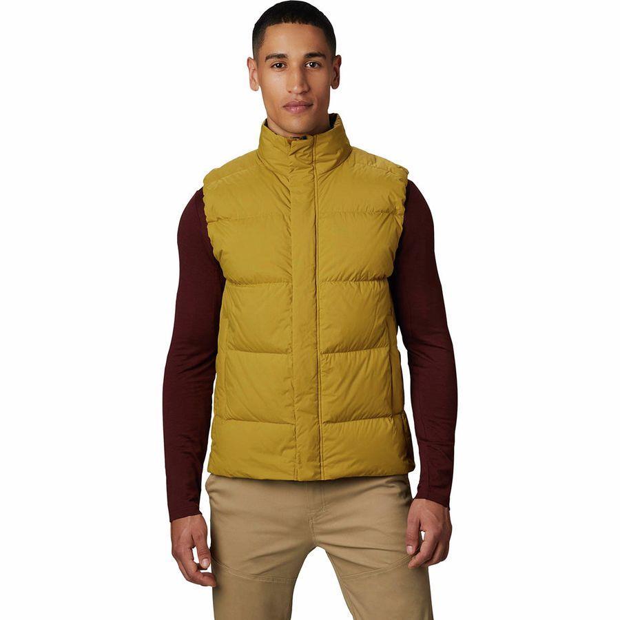 (取寄)マウンテンハードウェア メンズ グレイシャル ストーム ベスト Mountain Hardwear Men's Glacial Storm Vest Dark Bolt