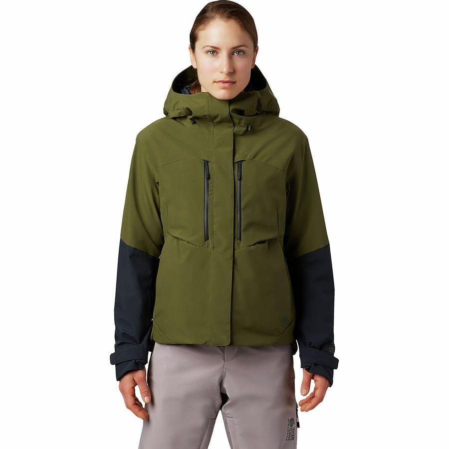 (取寄)マウンテンハードウェア レディース ファイアフォール 2 インサレーテッド ジャケット Mountain Hardwear Women Firefall 2 Insulated Jacket Combat Green